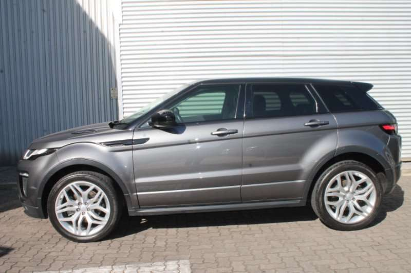 Land Rover Range Rover Evoque HSE Dynamic SD4 2016