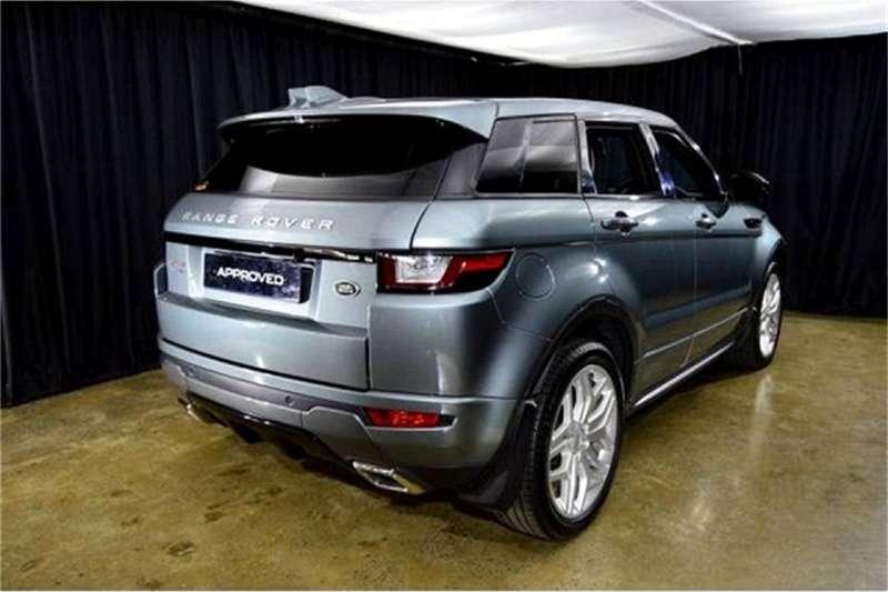 Land Rover Range Rover Evoque HSE Dynamic SD4 2017