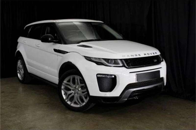 Land Rover Range Rover Evoque HSE Dynamic SD4 2017