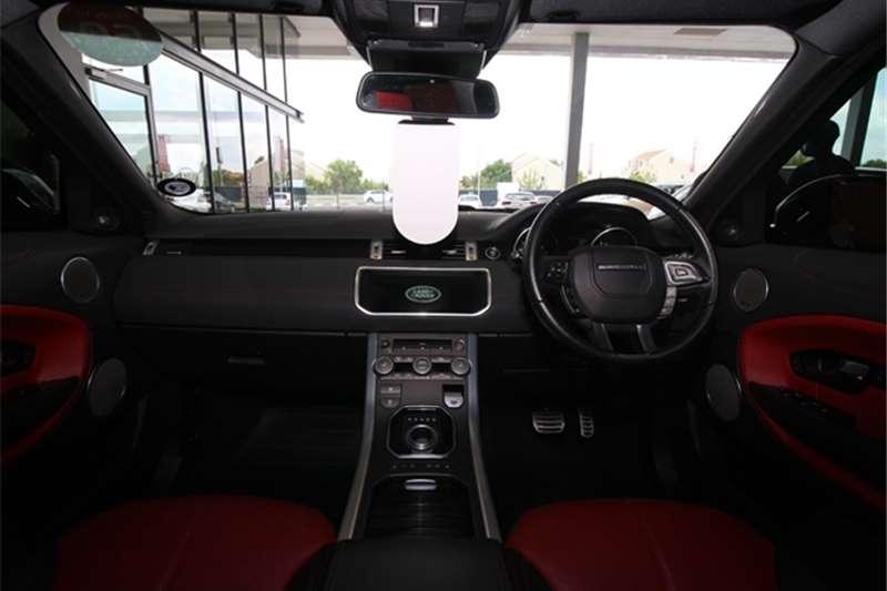 Land Rover Range Rover Evoque HSE Dynamic Si4 2017