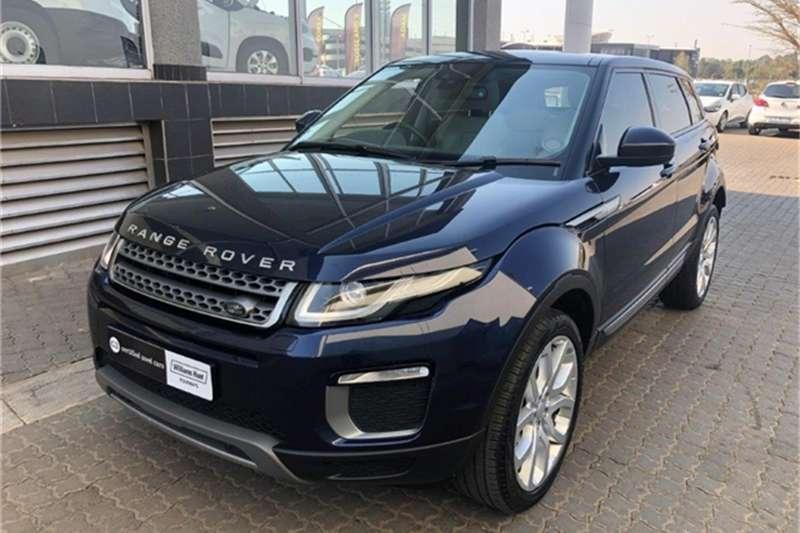 2017 Land Rover Range Rover Evoque SE Si4