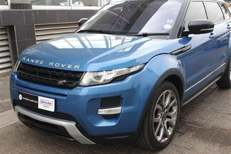 2014 Land Rover Range Rover Evoque Si4 Dynamic
