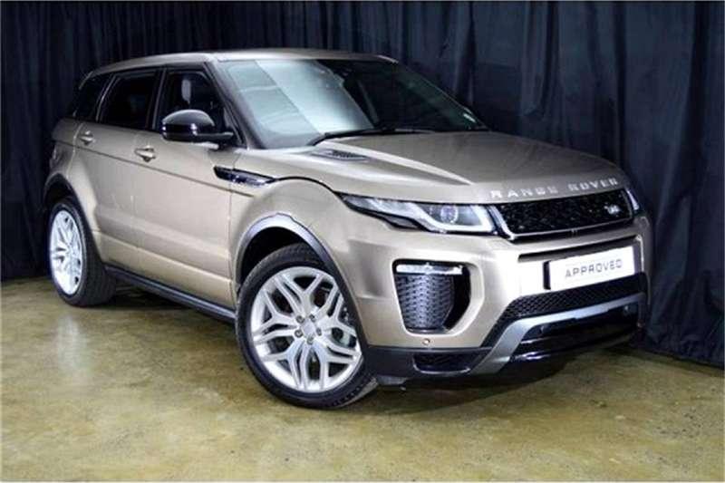 2018 Land Rover Range Rover Evoque HSE Dynamic TD4