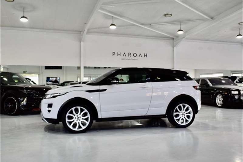 2012 Land Rover Range Rover Evoque coupé Si4 Dynamic