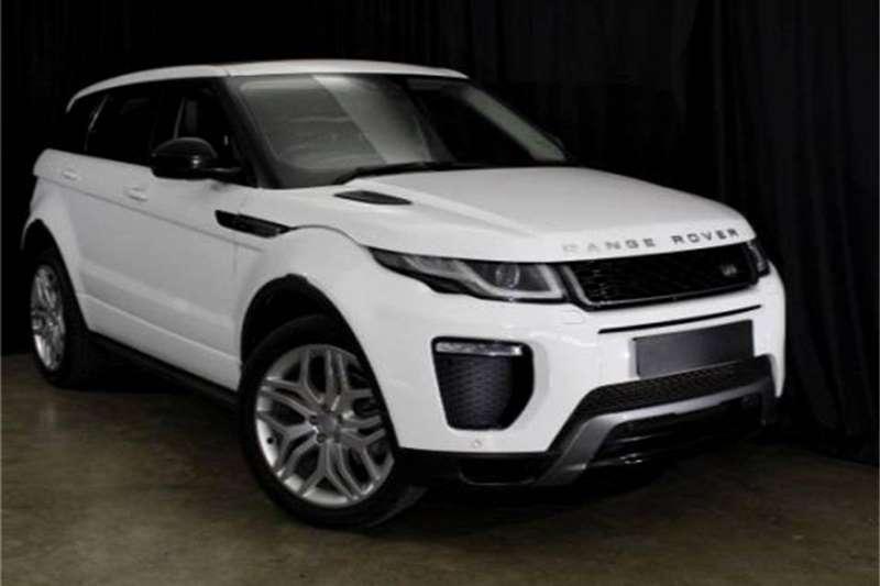 2017 Land Rover Range Rover Evoque HSE Dynamic Si4