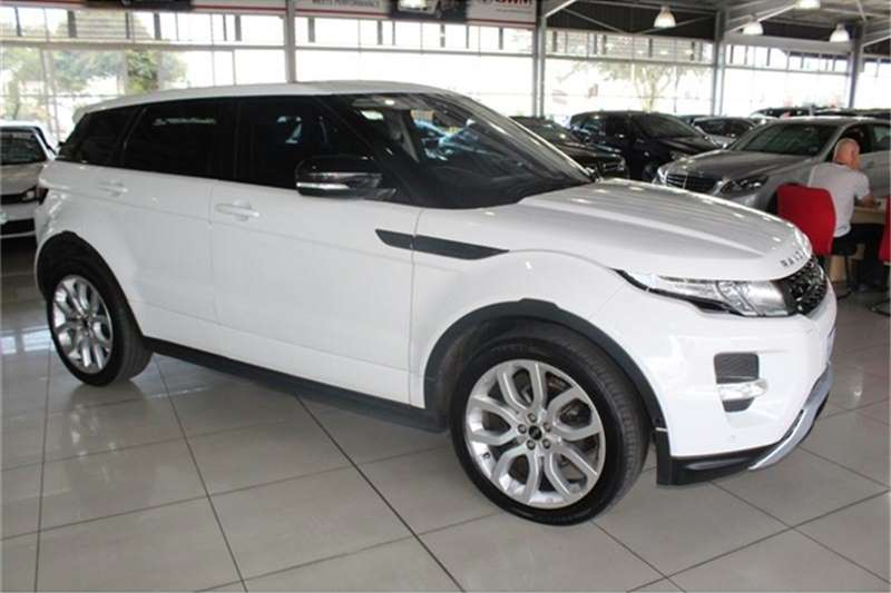 Land Rover Range Rover Evoque SD4 Dynamic 2012