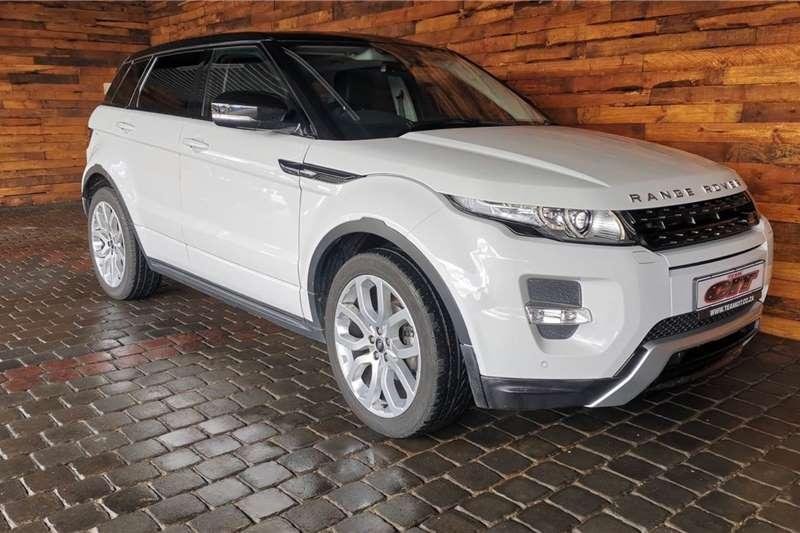 Land Rover Range Rover Evoque SD4 Dynamic 2012