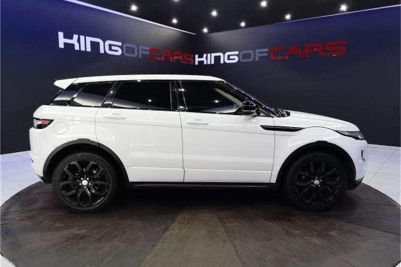 2012 Land Rover Range Rover Evoque Range Rover Evoque  SD4 Dynamic