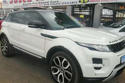 Used 2012 Land Rover Range Rover Evoque SD4 Dynamic
