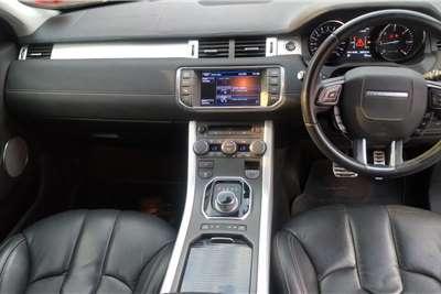 Land Rover Range Rover Evoque SD4 Dynamic 2013