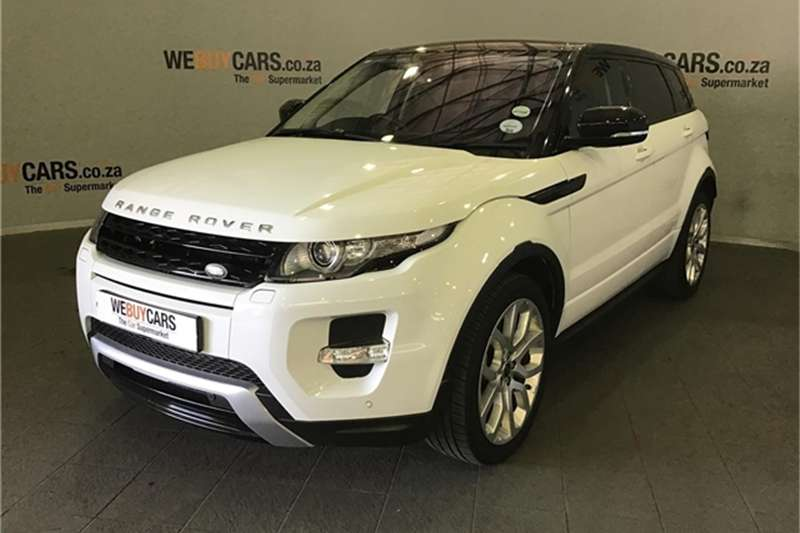 Land Rover Range Rover Evoque SD4 Dynamic 2014