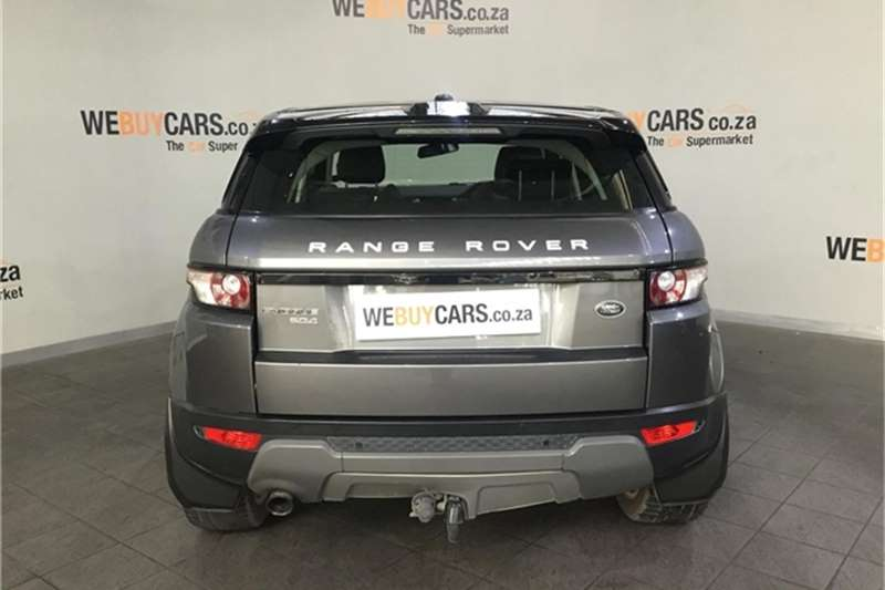 Land Rover Range Rover Evoque SD4 Dynamic 2015