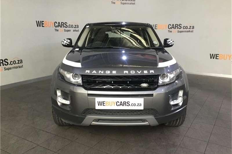 Land Rover Range Rover Evoque SD4 Dynamic 2015