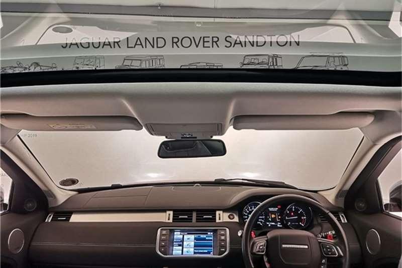 Land Rover Range Rover Evoque SD4 Dynamic 2016