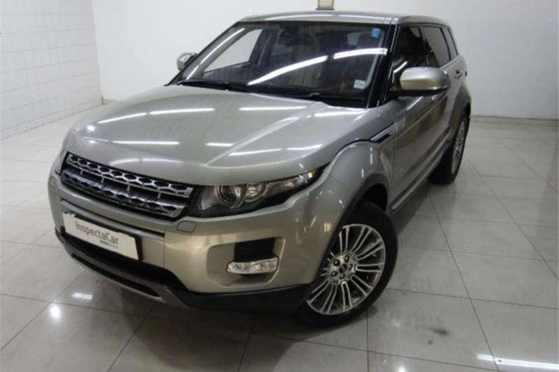 Land Rover Range Rover Evoque SD4 Prestige 2012