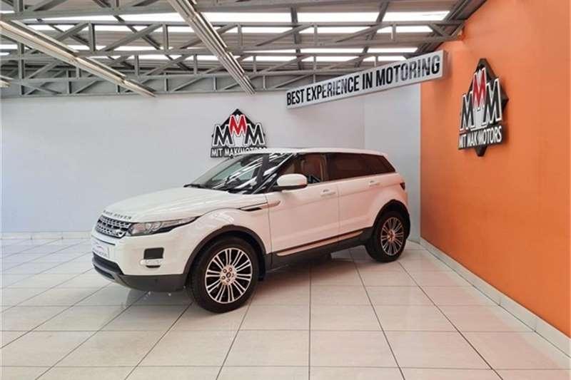 Used 2013 Land Rover Range Rover Evoque SD4 Prestige