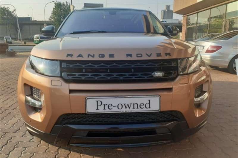 Land Rover Range Rover Evoque SD4 Prestige 2015