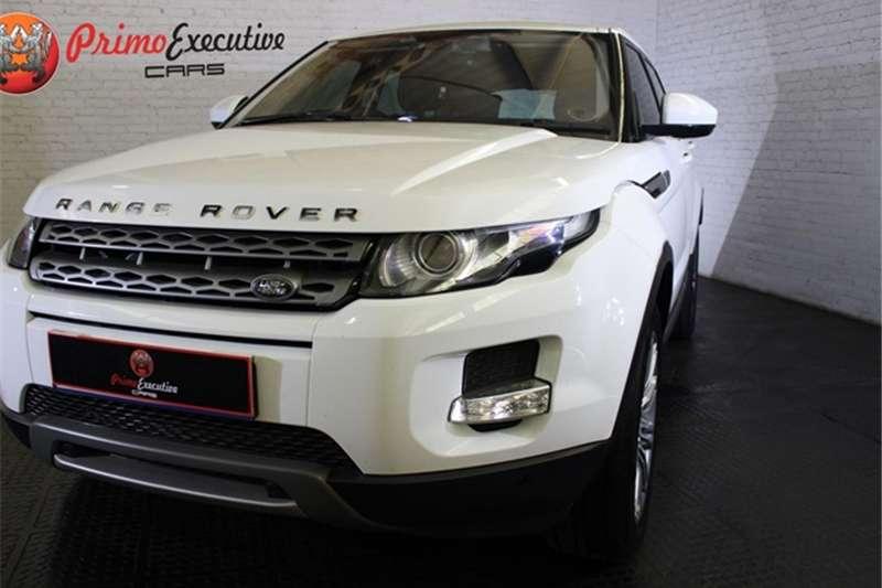 Land Rover Range Rover Evoque SD4 Pure 2014