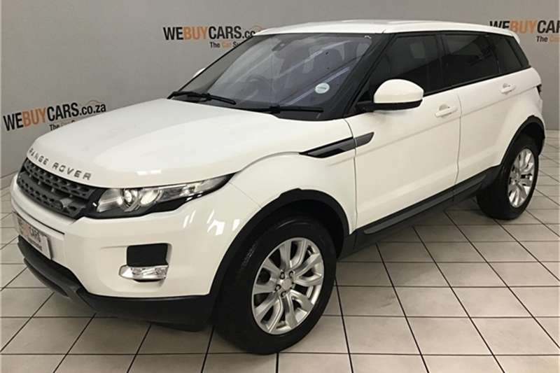 Land Rover Range Rover Evoque SD4 Pure 2014