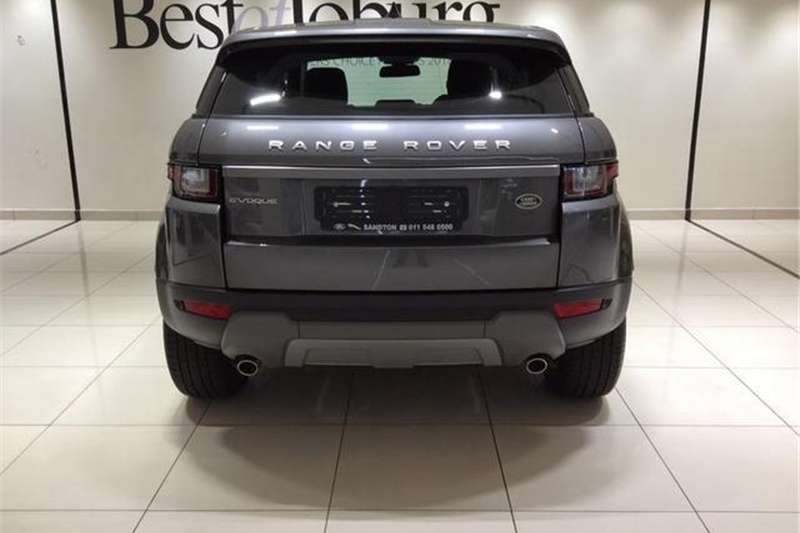 Land Rover Range Rover Evoque SE TD4 2019