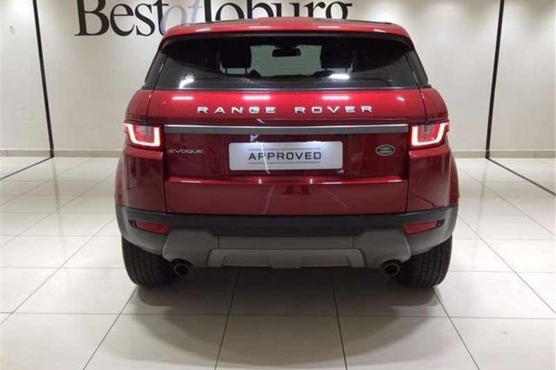 Land Rover Range Rover Evoque Si4 Dynamic 2016