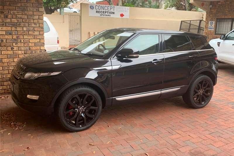 Land Rover Range Rover Evoque Si4 Prestige 2012