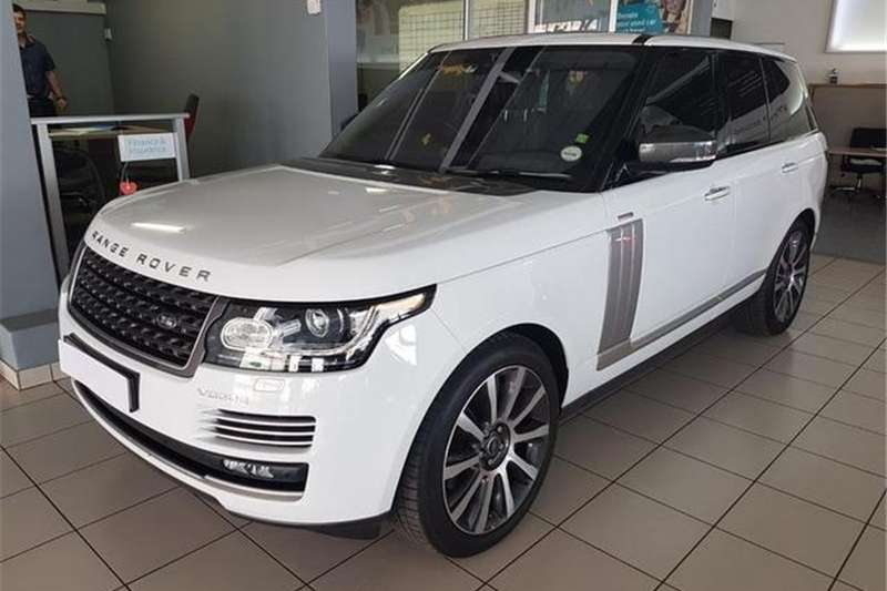 2017 Land Rover Range Rover Supercharged Vogue SE