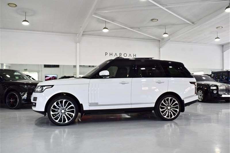 2014 Land Rover Range Rover Supercharged Vogue SE