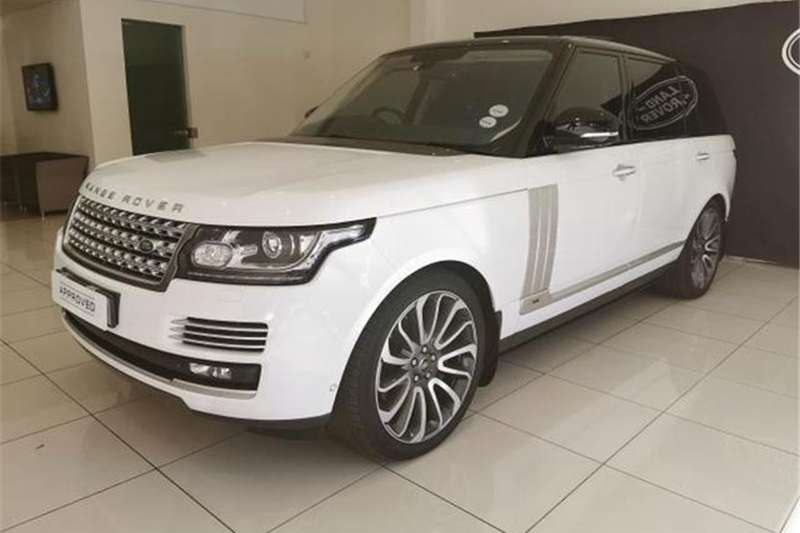 Land Rover Range Rover L Supercharged Autobiography 2015