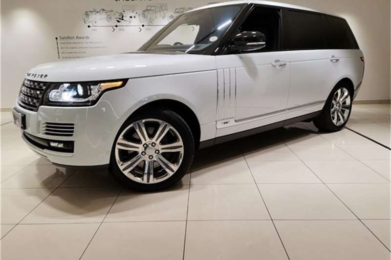 Land Rover Range Rover L Supercharged Autobiography Black 2019
