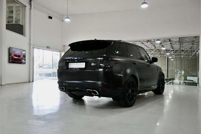 Used 2020 Land Rover Range Rover Sport RANGE ROVER SPORT 5.0 V8 SVR (423KW)