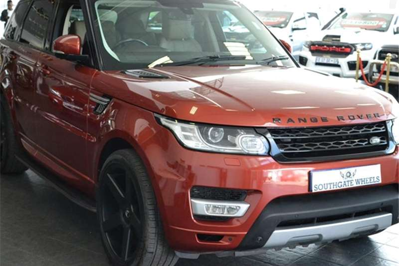 2014 Land Rover Range Rover Sport SCV6 HSE
