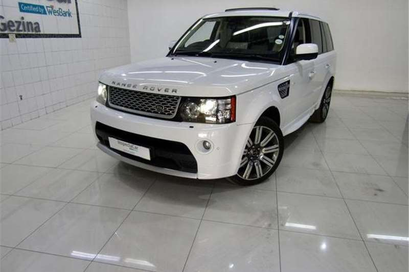 Land Rover Range Rover Sport Supercharged Auto Autobiography 2012