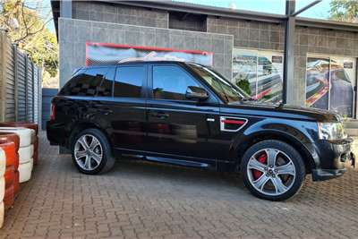 Used 2013 Land Rover Range Rover Sport Supercharged Red LE