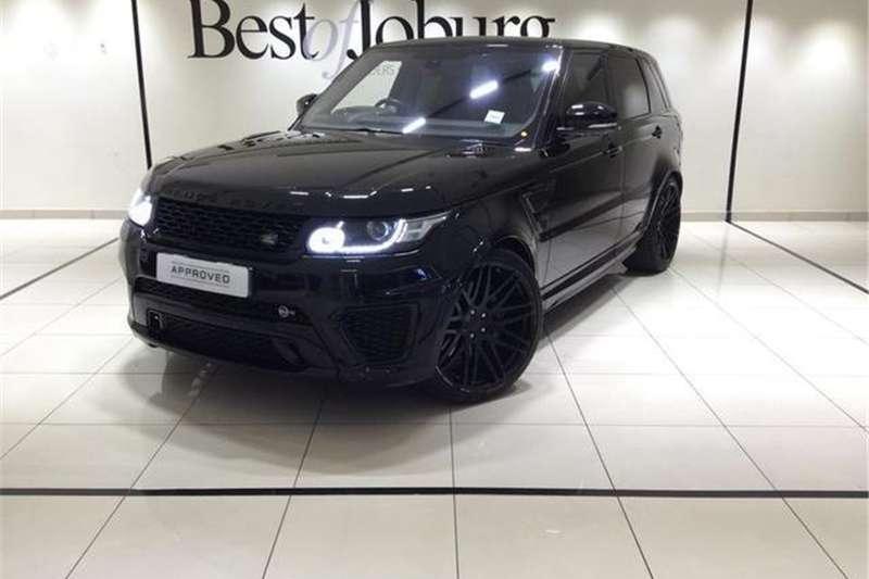 Land Rover Range Rover Sport SVR 2016