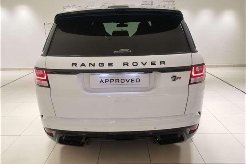 Land Rover Range Rover Sport SVR 2017
