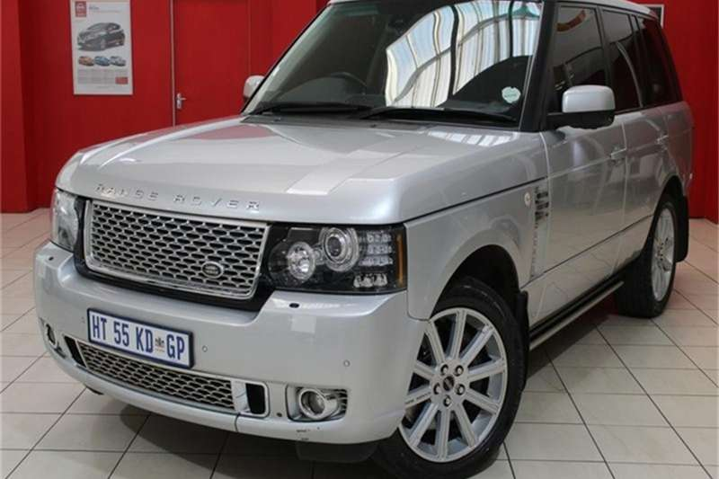 Land Rover Range Rover Supercharged Vogue SE 2012