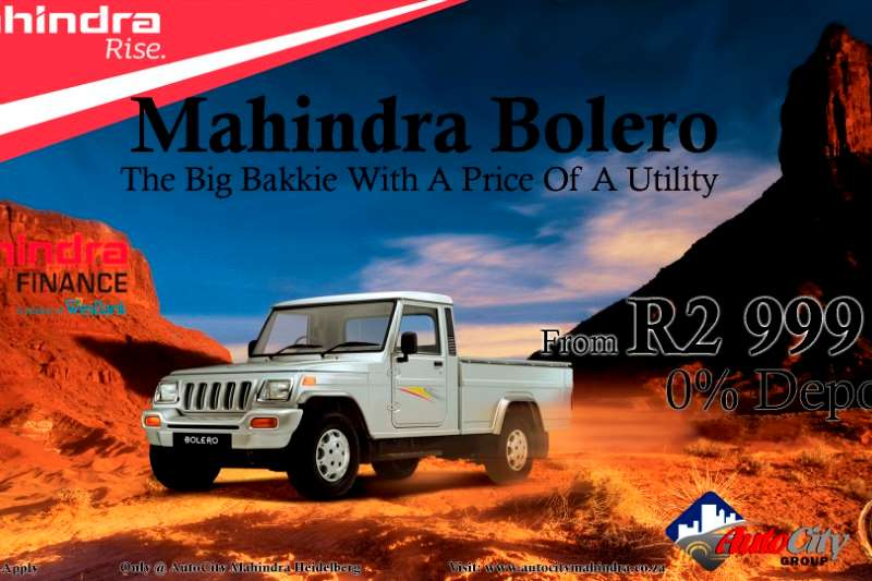 2019 Mahindra Bolero 2.5Di Maxitruck Plus