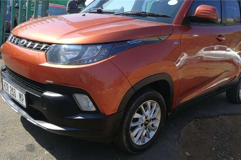 Used 2016 Mahindra KUV100 1.2 D75 K8