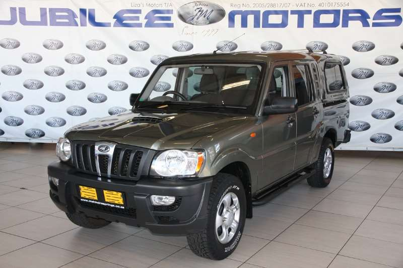 Mahindra Scorpio Pik-up 2.2CRDe double cab 2012