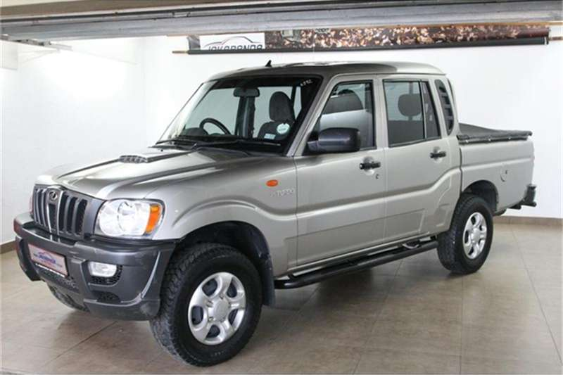 Mahindra Scorpio Pik-up 2.5TCI double cab 2011