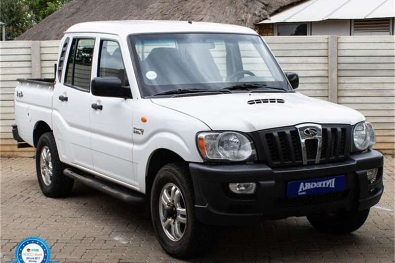 2014 Mahindra Scorpio Pik-up 2.2CRDe double cab 4x4