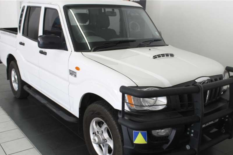 2017 Mahindra Scorpio Pik-up 2.2CRDe double cab 4x4