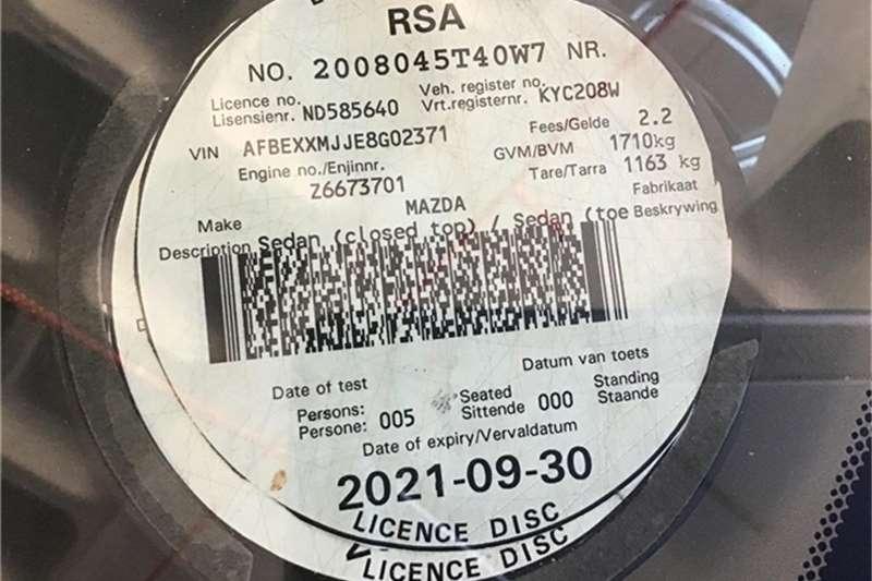 Mazda 3 Mazda 1.6 Dynamic 2008