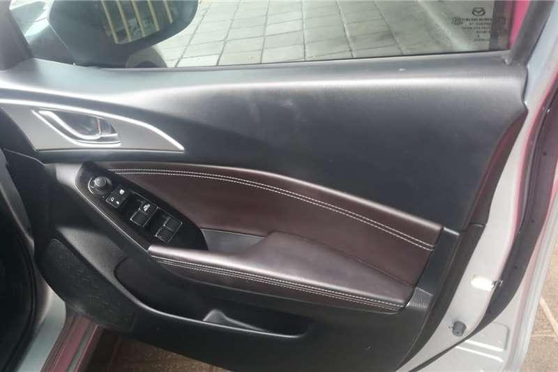 2018 Mazda 3 Mazda3 sedan 1.6 Active