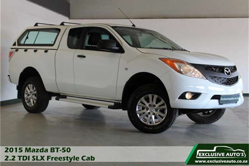 Mazda BT-50 2.2 110kW FreeStyle Cab SLX 2015