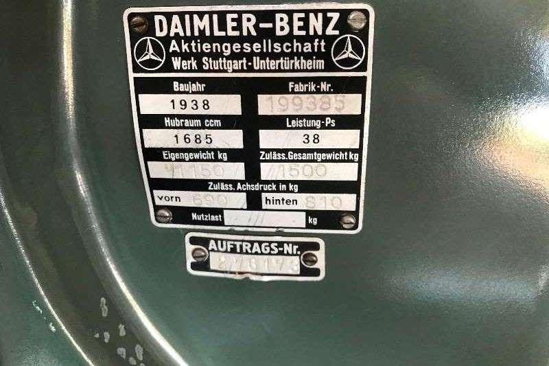 Mercedes Benz 170V 1999