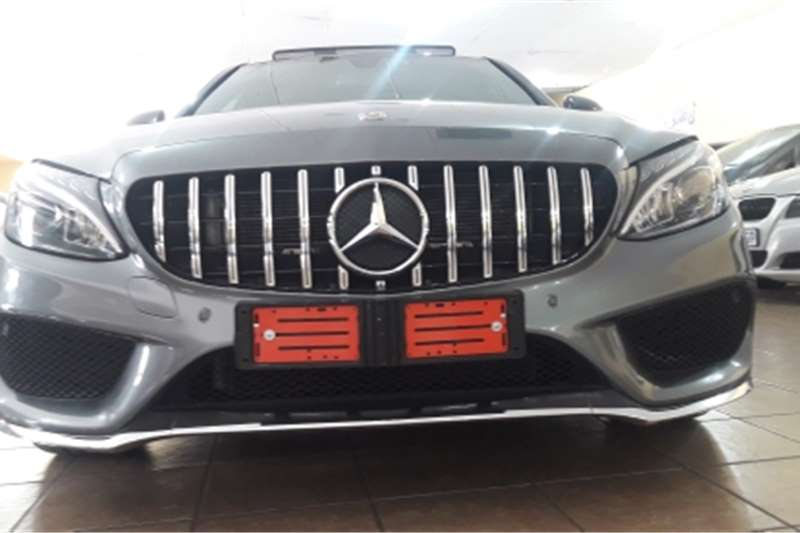 Mercedes Benz 180C Mercedes Benz C180 AMG Line automatic Grey colour 2018