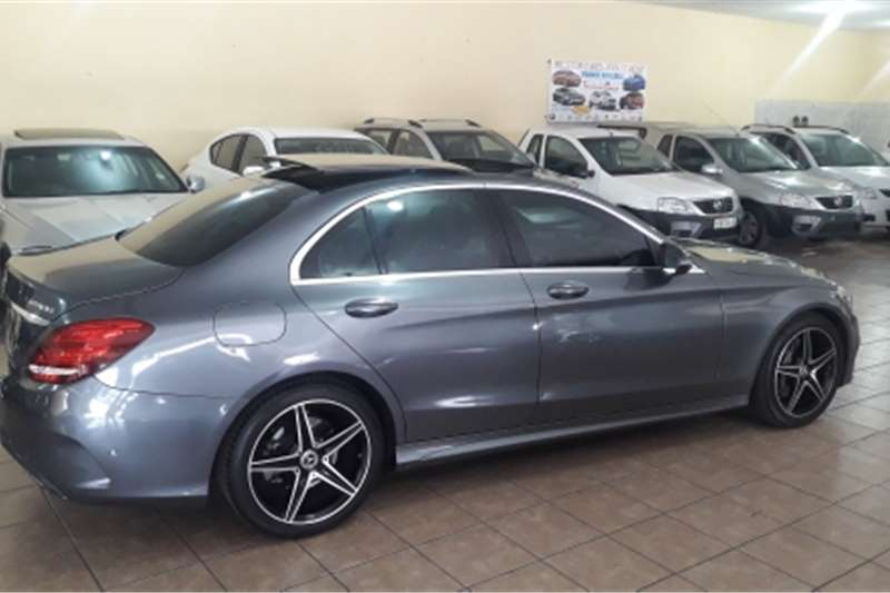 Mercedes Benz 180C Mercedes Benz C180 AMG Line automatic Grey colour 2018