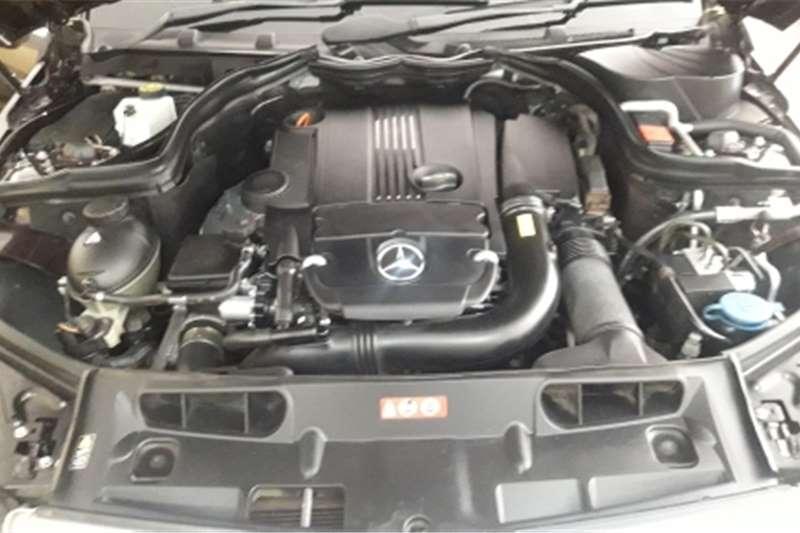 Mercedes Benz 180C Mercedes Benz C180 Blue Efficient Auto 2012